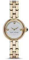 Marc by Marc Jacobs Marc Jacobs Women's Gold Tone Steel Bracelet & Case Quartz -Tone Dial Analog Watch MJ3457