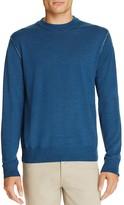 Canali Raw Edge Merino Crewneck Sweater