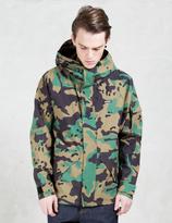 XLarge 2 Layer Camo Jacket