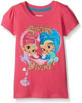 Nickelodeon Little Girls' Shimmer and Shine Sisters Divine Tee