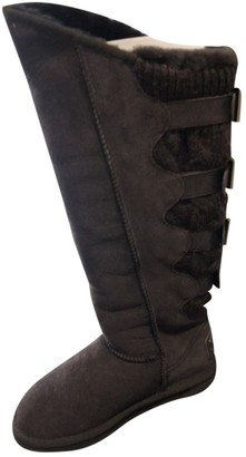 Australia Luxe Collective Brown Fur Boots