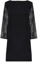 Tibi Labyrinth Lace Shift Dress
