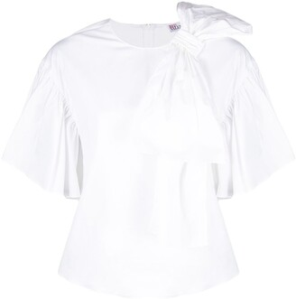 RED Valentino Oversize-Bow Blouse