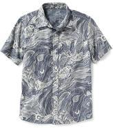 Old Navy Printed Chambray Shirt for Boys
