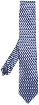 Salvatore Ferragamo Raccoon Print Tie