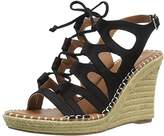 Sugar Women's Espadrille Wedge Sandal with Lace-Up Ghillie,9 M US