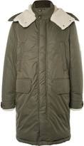 Moncler - Grafton Shearling-trimmed Shell Down Parka