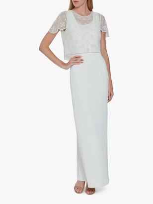 Gina Bacconi Jendra Beaded Maxi Dress