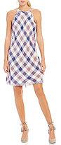 Chelsea & Violet Frayed Halter Dress