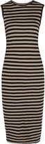 Enza Costa Cutout Pima cotton-jersey dress