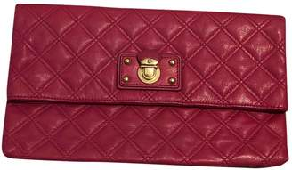 Marc Jacobs Single Pink Leather Clutch bags