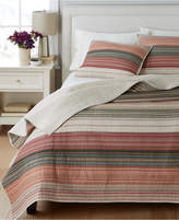 Martha Stewart Collection 100% Cotton Desert Rock Reversible King Quilt, Created for Macy's