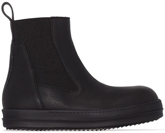 Rick Owens Bozo leather boots