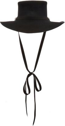 CLYDE Longing Gaucho Angora Hat