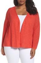 Eileen Fisher Plus Size Women's Organic Linen & Cotton Cardigan