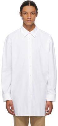 J.W.Anderson White Poplin Oversized Shirt