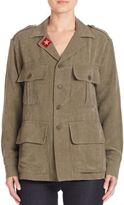 Smythe Patch Detail Army Jacket