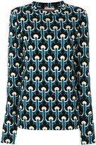 Marni Portrait print scuba (Blue) sweatshirt