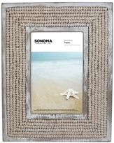 """SONOMA Goods for LifeTM Wood Bead 4"""" x 6"""" Frame"""