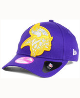 New Era Women's Minnesota Vikings Glitter Glam 9FORTY Cap