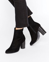 New Look Suedette High Ankle Boot