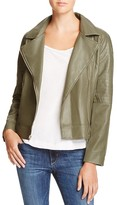 BB Dakota Drake Faux Leather Moto Jacket - 100% Bloomingdale's Exclusive