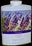 Taylor of London Luxury Talcum Powder for Women, Lavender, 7.0 Ounce by