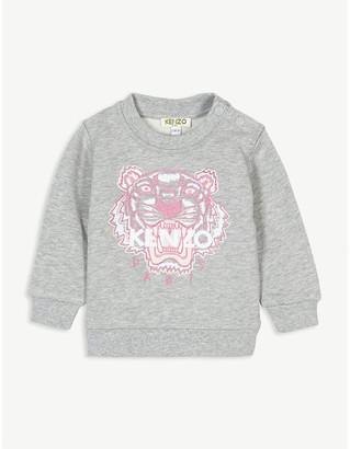 Kenzo Icon tiger cotton sweatshirt 6-36 months