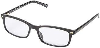 Kate Spade Jodie Blue Light Reading Glasses (Black) Reading Glasses Sunglasses
