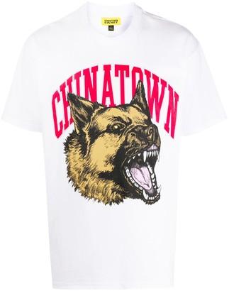 Chinatown Market logo dog print T-shirt