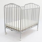 L.A. Baby Compact Folding Metal Crib Finish: Pewter by