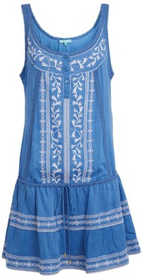 Melissa Odabash Embroidered Jaz Mini Dress