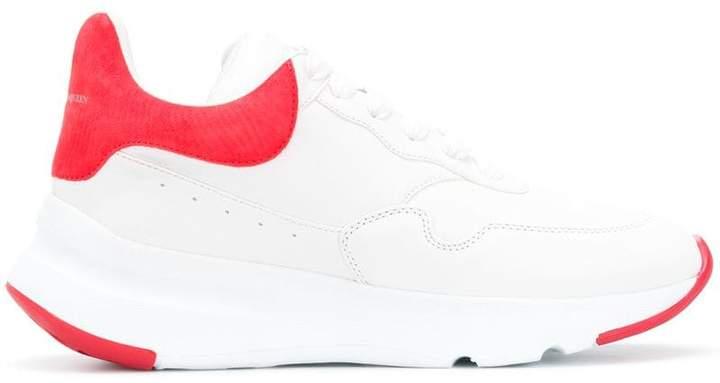 Alexander McQueen platform running sneakers
