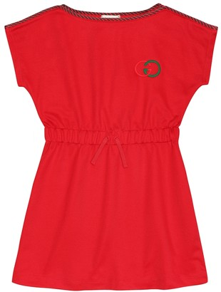 Gucci Kids Technical-jersey dress