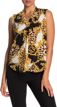 Vanity Room V-Neck Sleeveless Blouse