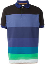 Paul Smith horizontal stripe polo shirt - men - Cotton - XL