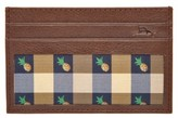 Tommy Bahama Men's 'Pineapple' Card Case - Brown