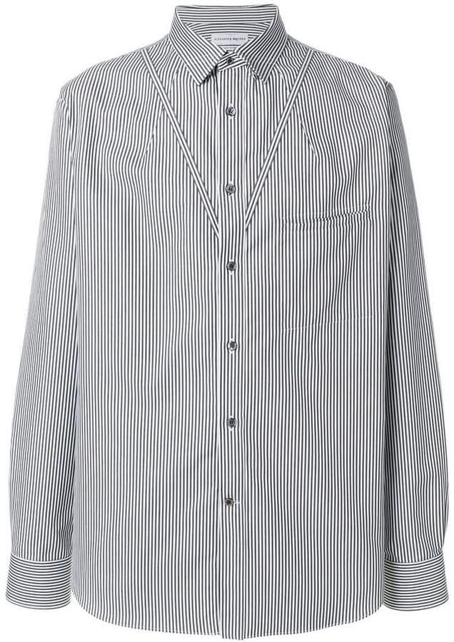 Alexander McQueen V-stripe shirt