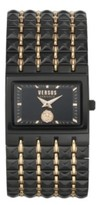 Thumbnail for your product : Versus By Versace Women's Velasca Black/Rose Gold Tone Stainless Steel Bracelet Watch 49mm