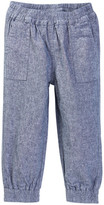 Tea Collection Chambray Jogger (Baby Girls)