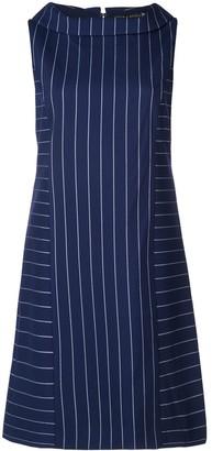 Alice + Olivia Alice+Olivia contrasting stripes short dress