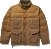 Filson - Cruiser Quilted Water-repellent Cotton-canvas Down Jacket