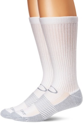 Copper Fit Unisex-Adult's Crew Sport Socks-2 Pack