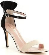 Kate Spade Iris Color Block Ankle Strap Leather & Suede Dress Sandals