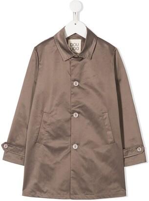 Douuod Kids Cavallery trench coat