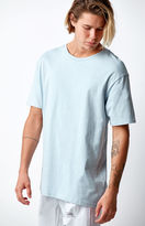 On The Byas Solid Blue Regular T-Shirt