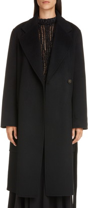 Acne Studios Carice Double Breasted Wool Coat