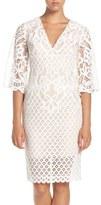 Bardot 'Charlie' V-Neck Lace Sheath Dress