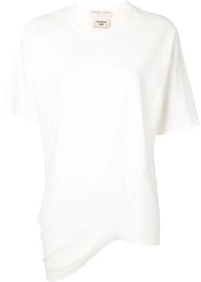 Bottega Veneta asymmetric hem T-shirt