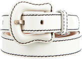 Fendi Patent Leather Skinny Belt